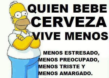 La cerveza y Homer
