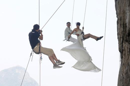Nos hacemos las fotos de boda aquí?