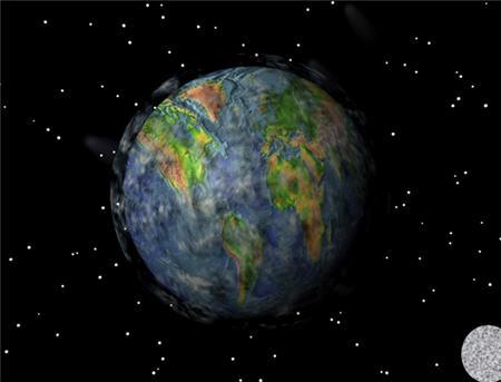 Mundo desde la luna