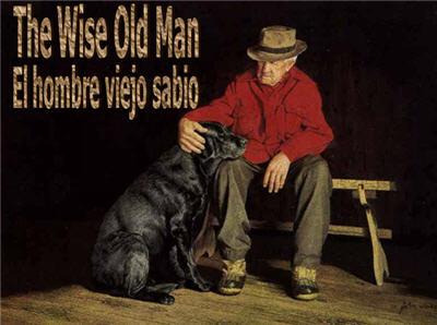 Hombre sabio