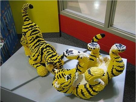 Pumas con lego